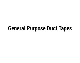 General Purpose Duct Tapes